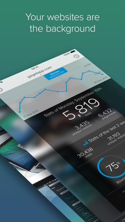 GAget - Google Analytics for iPhone
