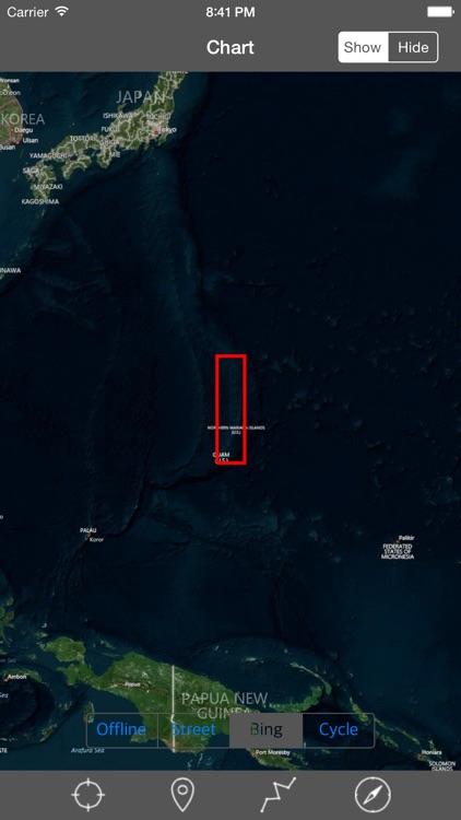 Guam & Northern Marina Islands  - Raster Nautical Charts screenshot-4