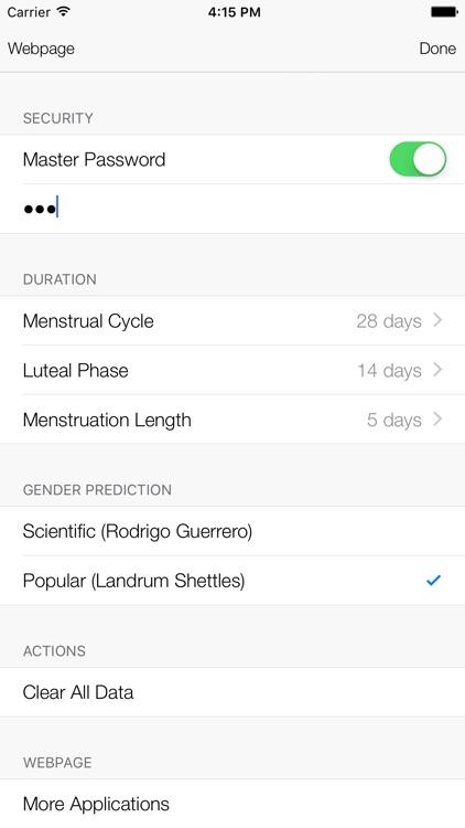 Menstrual Cycle Tracker screenshot-4