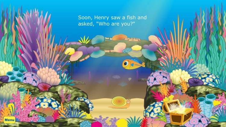 Henry The Little Fish – An interactive children's story book app screenshot-4