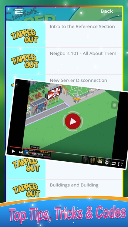 Guide for The Simpsons Tapped Out screenshot-3
