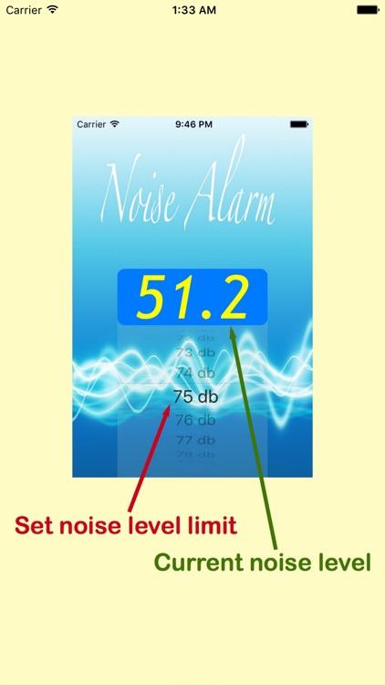 Noise Alarm