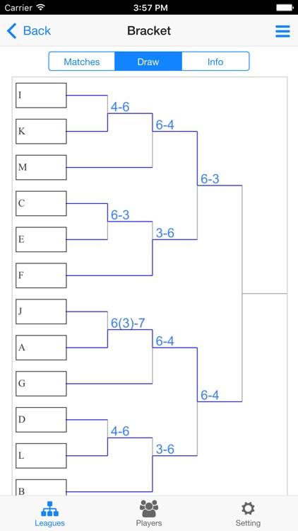 Tennis Tournament Maker