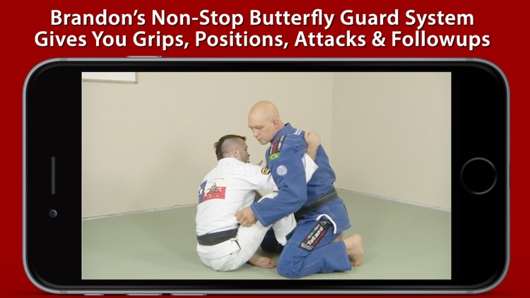 Non-Stop Butterfly Guard: Sweeps & Submissions for BJJ & Nogi Grappling screenshot-3