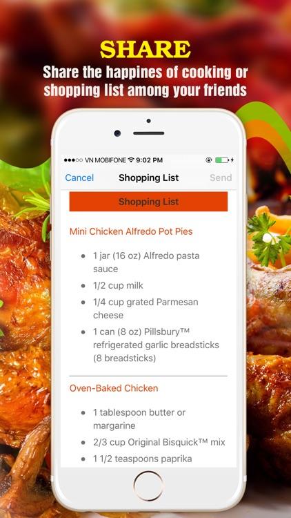 Yum Chicken ~ Best Healthy Chicken Recipes screenshot-4