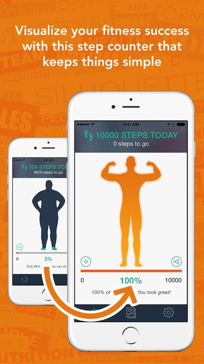 Today Counts - Use Your iPhone To Count Steps - Walk Your Way To A Better Body