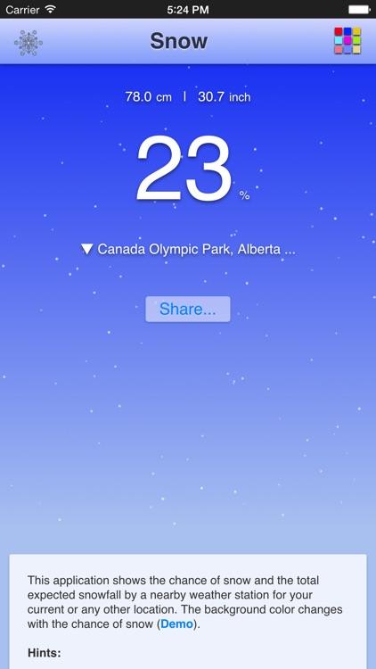 Chance of Snow screenshot-3