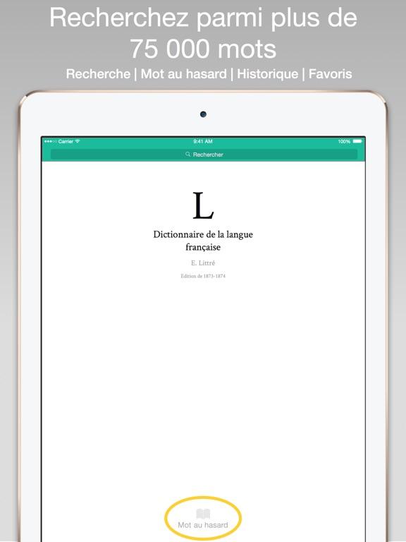 Dictionnaire Littré - Référence de la langue française