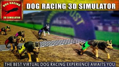 Race Dog Racer Simulator 2016 – Virtual Racing Championship with Real Police Dogs screenshot one