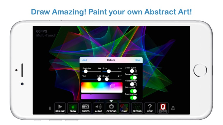 Gravitarium Live - Music Visualizer + screenshot-1
