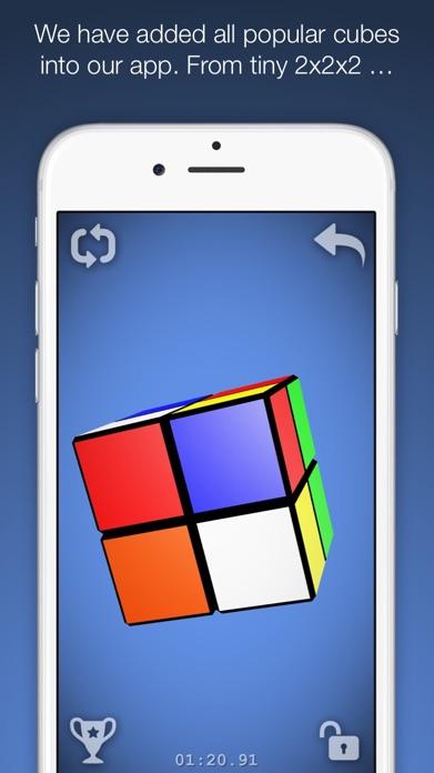 Magic Cube Puzzle 3D Screenshot