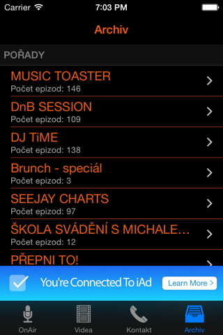 SeeJay Rádio screenshot 1