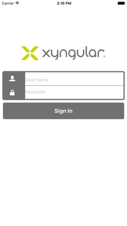Xyngular Back Office