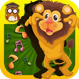 Amazing Animals Puzzle -Educational Word Learning Game for Kids & Toddlers