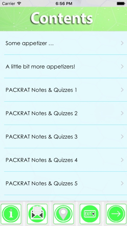 PACKRAT Exam Review: 2600 Flashcards, Notes & Quiz screenshot-4