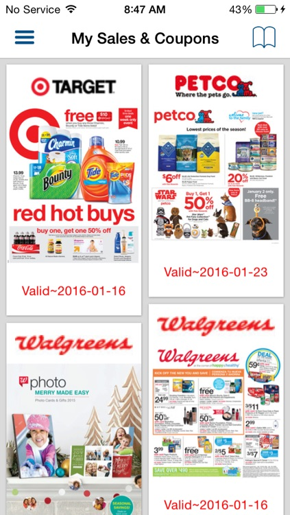 Weekly Circulars, Sales, Deals, Coupon Savings, Ads & Discounts with Shopping List