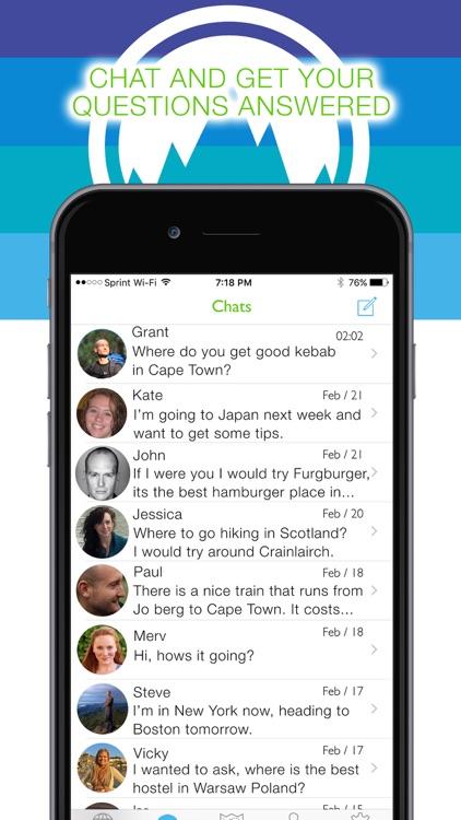 Trackpacker - The Traveler's Social Network