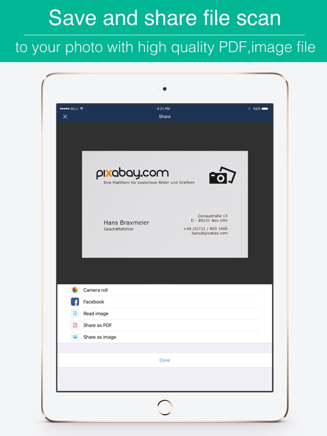 Business Card Scanner Ocr Images - Card Design And Card Template