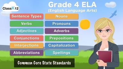 点击获取4th Grade Grammar - English grammar exercises fun game by ClassK12 [Full]