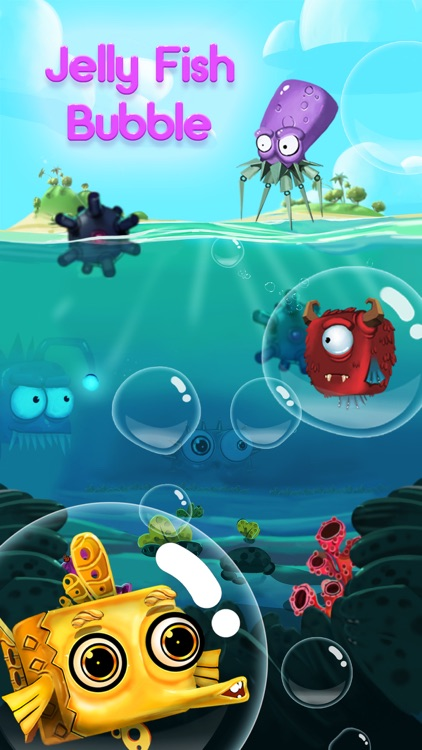 Jelly Fish Bubble screenshot-0