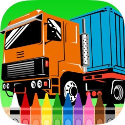 Car Truck Coloring Book Printable Coloring Pages For Kids