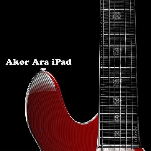 AkorAra for iPad - Güncel & Eski Gitar Akor,Tab,Sözleri