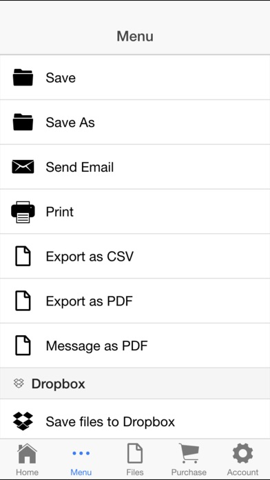 Check Book Register review screenshots