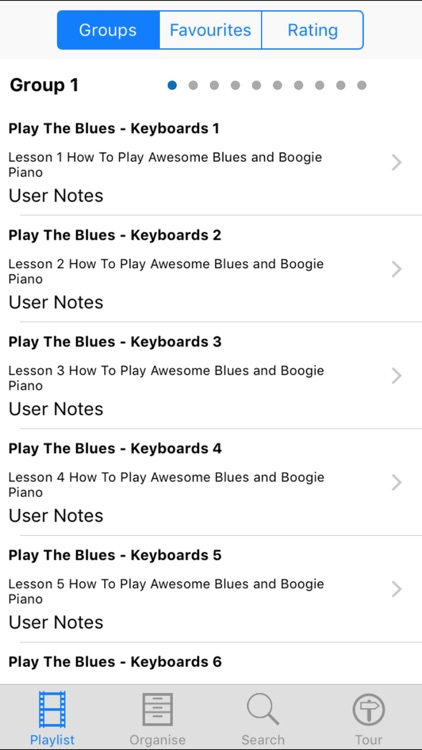 Play The Blues - Keyboards