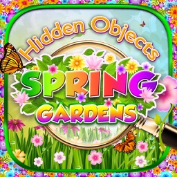 Spring Easter Gardens - Hidden Object Spot and Find Objects Photo Differences Holiday Game