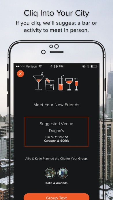 Cliq - Meet a New Group of Friends, with Yours app image