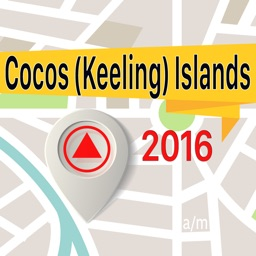 Cocos (Keeling) Islands Offline Map Navigator and Guide