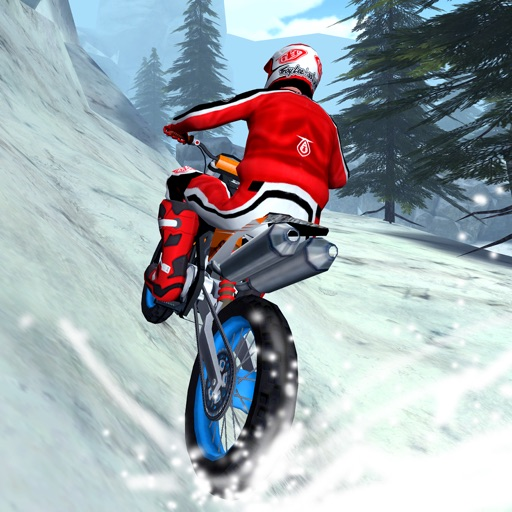 3D Motocross Snow Racing X - eXtreme Off-road Winter Bike Trials Racing Game FREE