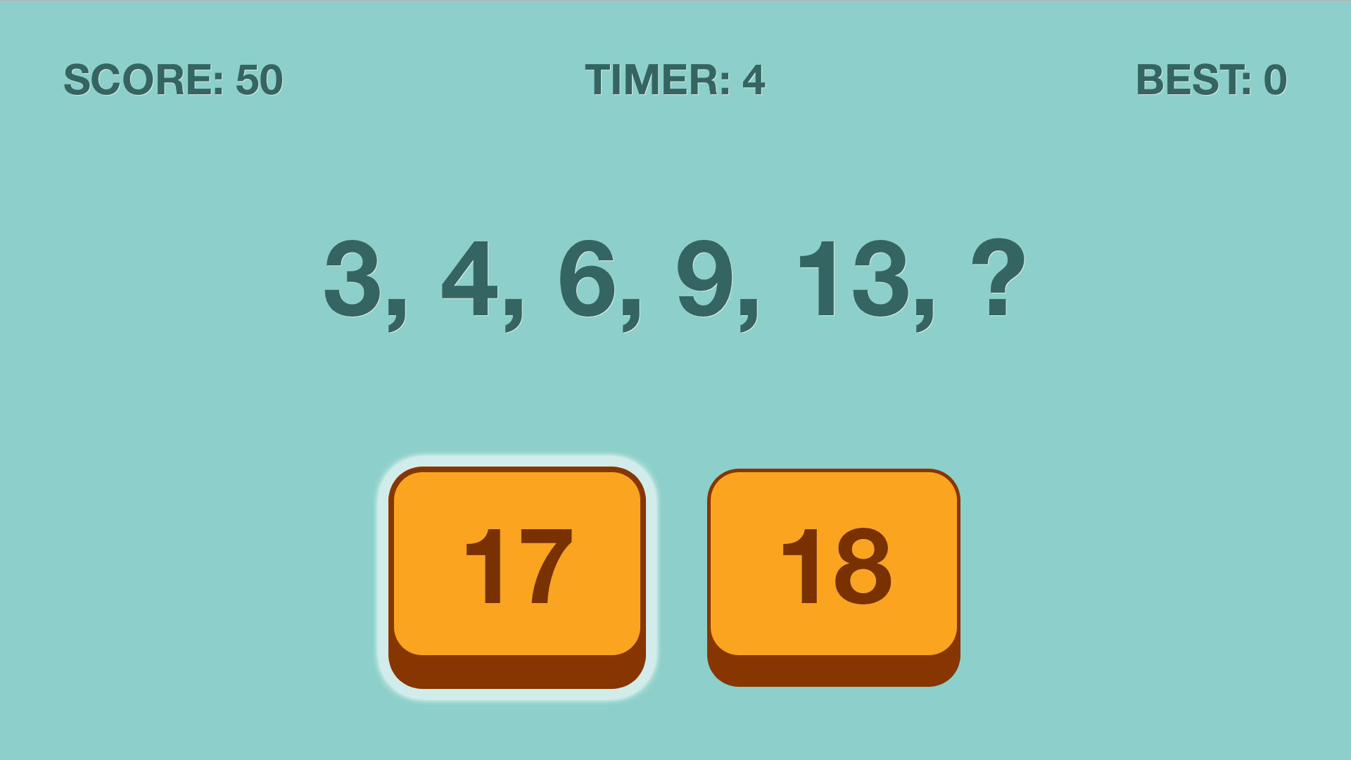 Add Next Number Sequence Puzzle screenshot 5
