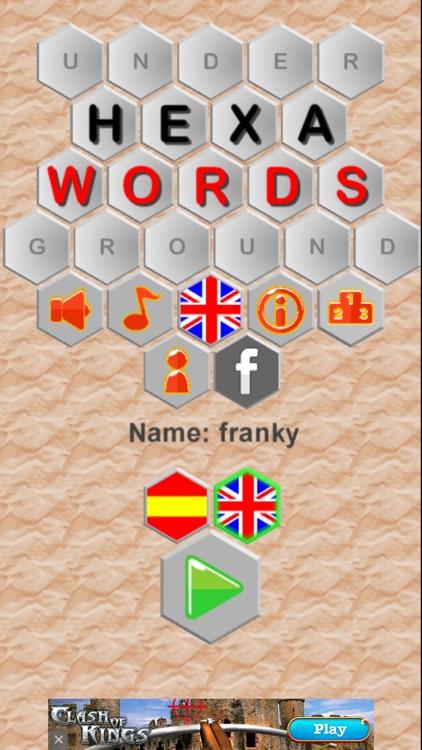 Hexa-Words screenshot-4