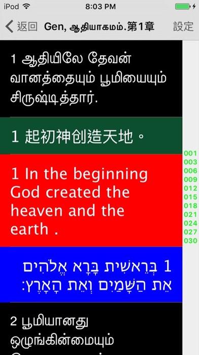Tamil Audio Bible 泰米尔语圣经 坦米爾語聖經屏幕截圖2