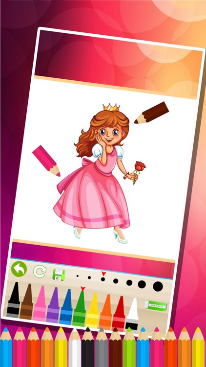 Princess Coloring Pages -  Painting Games for Kids