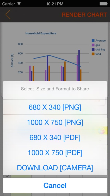 Chart Maker App screenshot-4