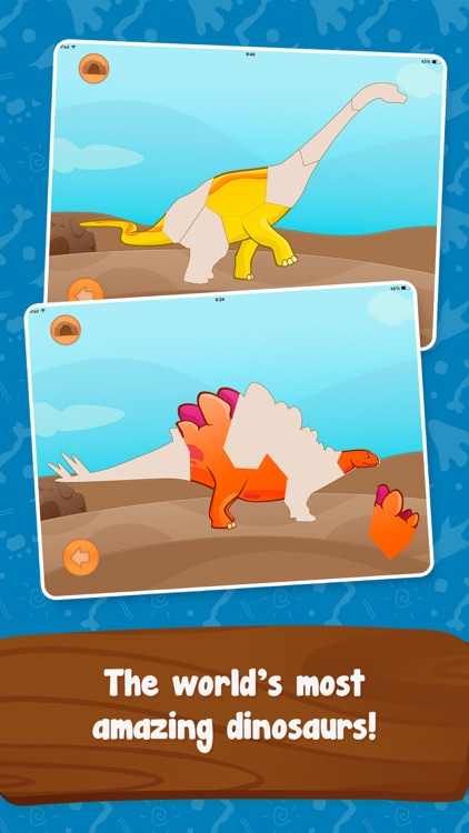 Dinosaur Builder Puzzles for Kids Boys and Girls