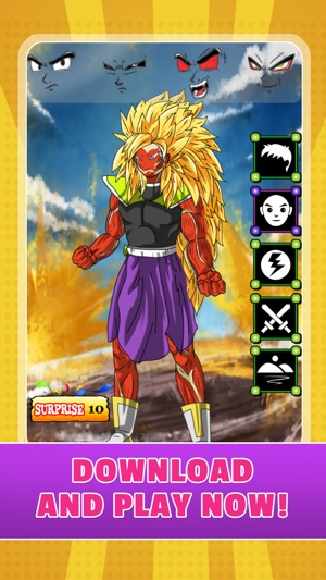 create your own super saiyan dbz games battle of gods dragon ball