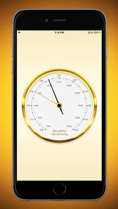気圧計+ screenshot1