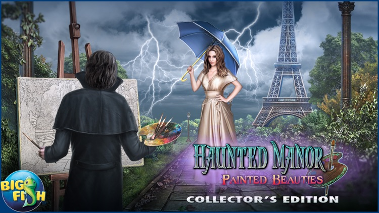 Haunted Manor: Painted Beauties - A Hidden Objects Mystery (Full) screenshot-4