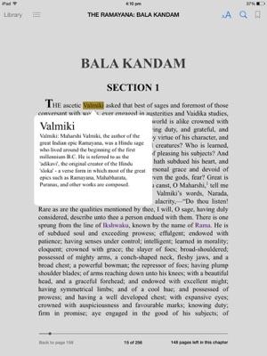 THE RAMAYANA VOL 1: BALA KANDAM