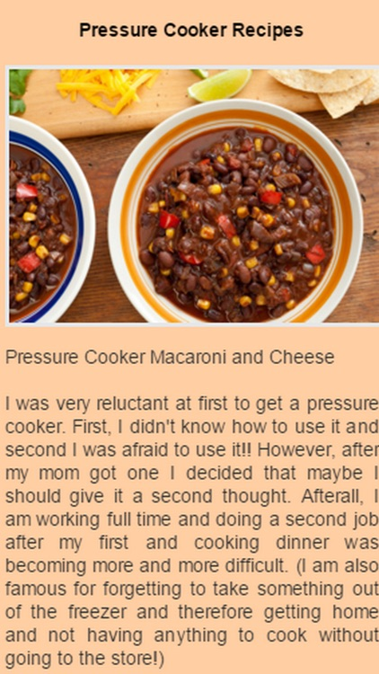 Pressure Cooker Recipes.