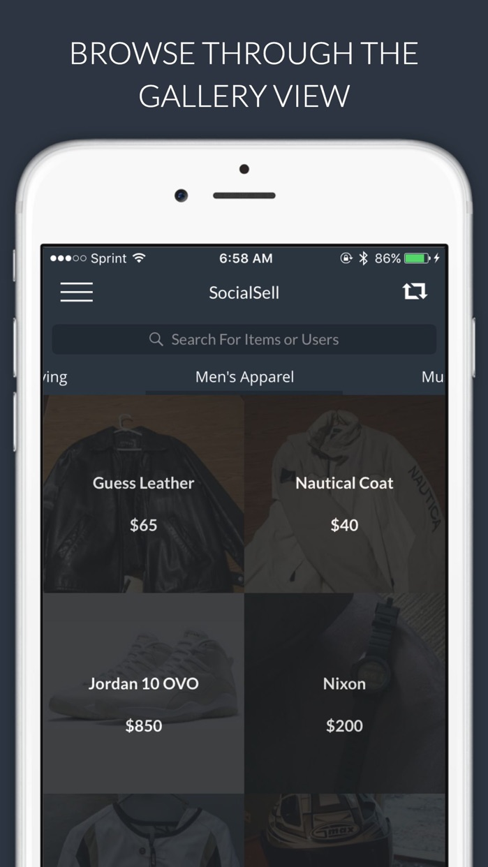 SocialSell - Buy and Sell Used and New Items Locally, Shop Deals Near You Screenshot