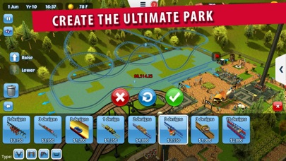 Screenshot #7 for RollerCoaster Tycoon® 3