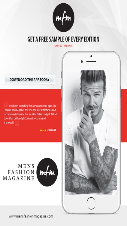 Mens Fashion Magazine screenshot-4