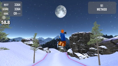 Crazy Snowboard review screenshots