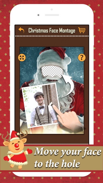 Xmas Face Montage Effects - Change Yr Face with Dozens of Elf & Santa Claus Looks screenshot four
