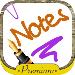Write notes on the screen with the fingers - Premium