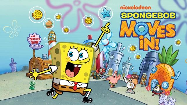 SpongeBob Moves In On The App Store
